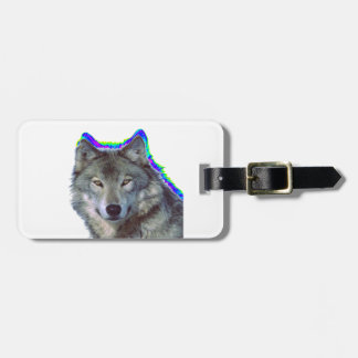 THE WOLFS WAY LUGGAGE TAG