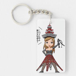 The woman English story, Minato Tokyo Yuru-chara a Key Ring