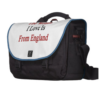 The Woman I Love Is From England Laptop Computer Bag