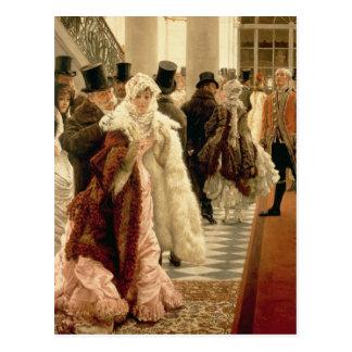 The Woman of Fashion , 1883-5 Postcard