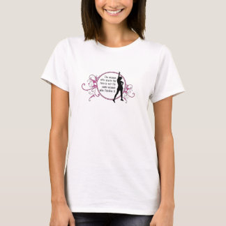 The Woman who starts the race... T-Shirt
