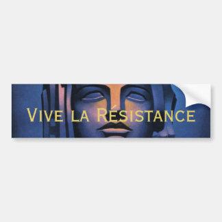 The Women Lead the Resistance Bumper Sticker