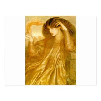 The Women of the Flame by Dante Gabriel Rossetti Postcard