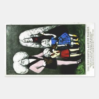 The Wonderful Albino Family Sticker