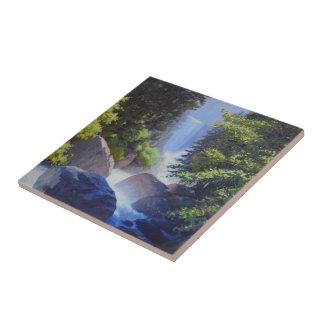 The Wondrous Roar Of Mist Ceramic Tile