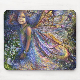 The Wood Fairy Mouse Pad