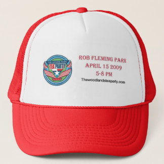 The Woodlands Tea Party hat