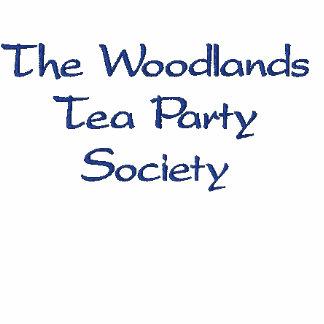 The Woodlands Tea Party Society polo shirt