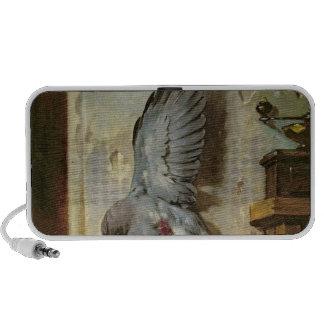 The Woodpigeon, c.1857 iPod Speakers