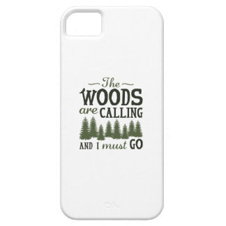The Woods Are Calling Case For The iPhone 5