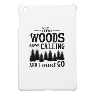 The Woods Are Calling Cover For The iPad Mini