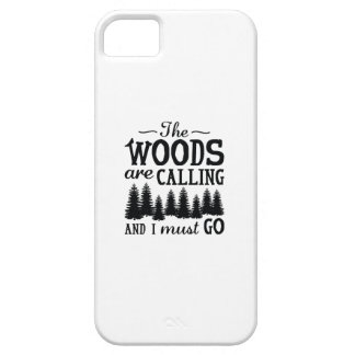 The Woods Are Calling iPhone 5 Case