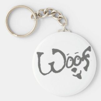 """The """"Woof"""" Dog Lover's Key Chain"""