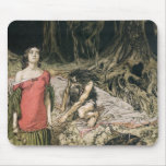 The Wooing of Grimhilde, the mother of Hagen Mousepad