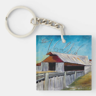 The Woolshed Key Ring