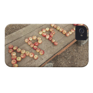 The word apple in apples Case-Mate blackberry case