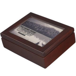 The Word WORK Keepsake Box