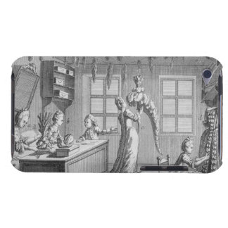 The workshop of a dressmaker, illustration from th barely there iPod cover