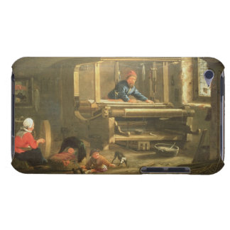 The Workshop of a Weaver, 1656 (oil on canvas) iPod Touch Covers