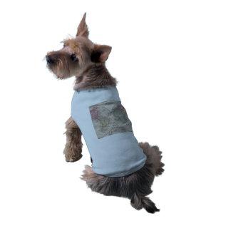 The world 1860 - Eastern & Western hemispheres Sleeveless Dog Shirt