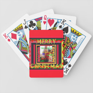 The world around Me is happy to Have You colors Me Bicycle Playing Cards