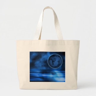 The World at Large Tote Bags