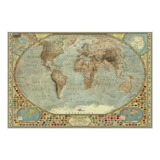 The World - Decorative Poster