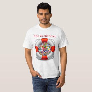 The world flows T-Shirt