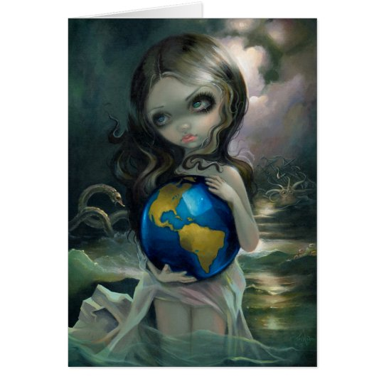 """The World"" Greeting Card"