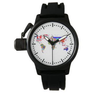 The World In Flags Wristwatch