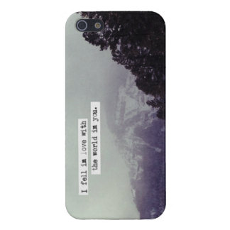 The world in you iPhone 5 covers