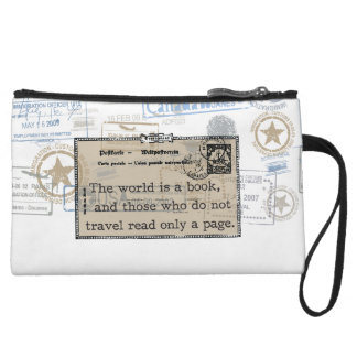 The World is a Book Clutch