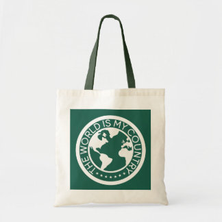 The World is My Country Tote Bag.