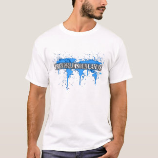 The World Is Our Canvas graffiti T-Shirt