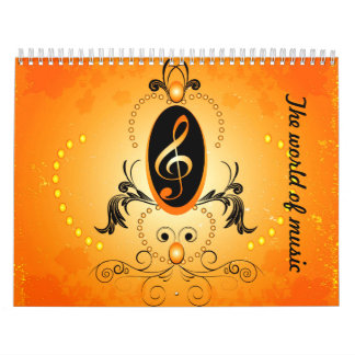 The world of music calendars