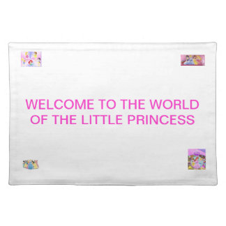 THE WORLD OF THE LITTLE PRINCESS PLACE MATS