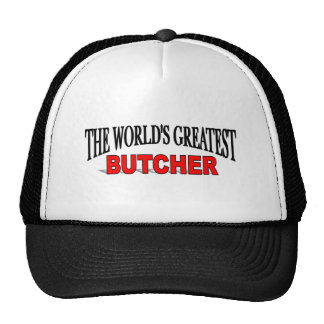 The World s Greatest Butcher Hats