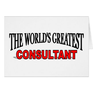 The World s Greatest Consultant Cards