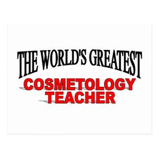 The World s Greatest Cosmetology Teacher Postcard