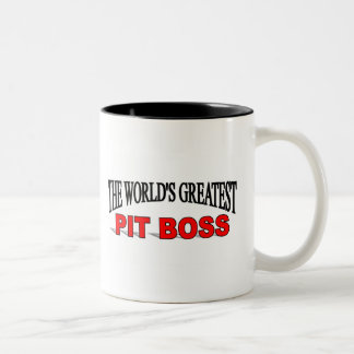 The World s Greatest Pit Boss Mug