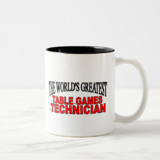 The World s Greatest Table Games Technician Coffee Mug