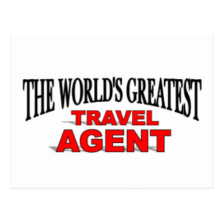 The World s Greatest Travel Agent Post Card