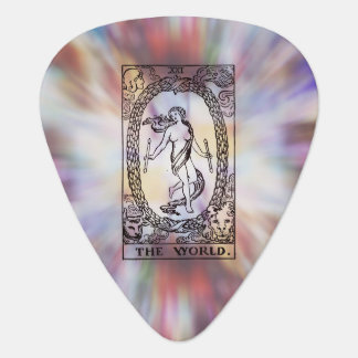 The World Tarot Card Guitar Pick