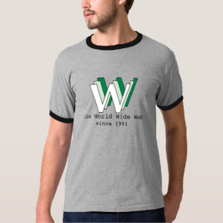 The World Wide Web, since 1991 - WWW shirt