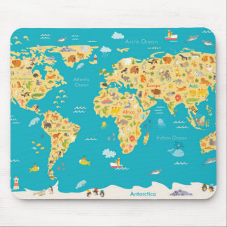 The World's Animals Mouse Pad