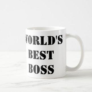 The World's Best Boss Basic White Mug