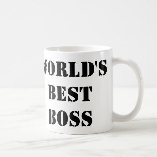 The World's Best Boss Coffee Mug