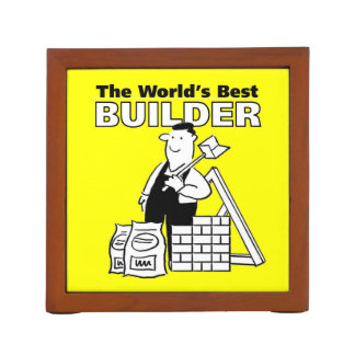 The World's Best Builder Desk Organiser