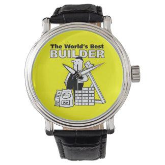The World's Best Builder Wristwatches
