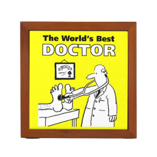 The World's Best Doctor Desk Organiser